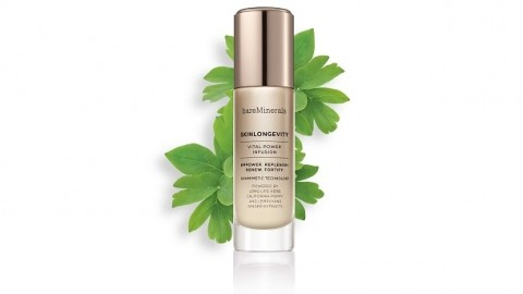bareMinerals new formulations and global marketing strategy in line with longevity trend