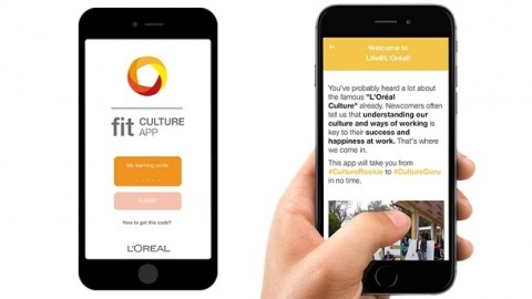 L'Oréal launches an in-house app to welcome new hires