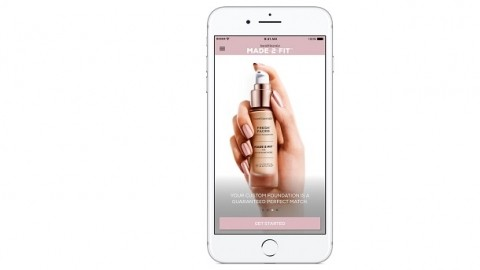 bareMinerals launches an app with MatchCo technology